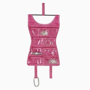 Umbra Little Pink Dress Travel Jewelry Organizer